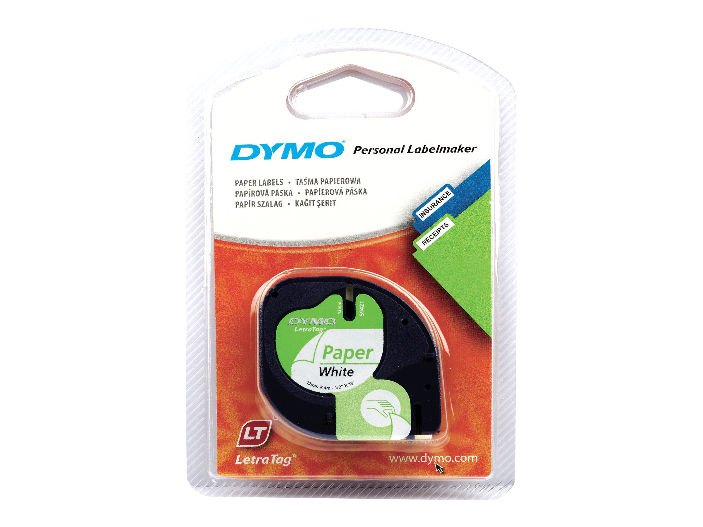 DYMO LetraTAG - ruban de papier - 1 rouleau(x)