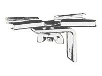Draper T-Bar Twist Clips