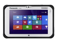 "Panasonic Toughpad FZ-M1 - Tablet - Core m5 6Y57 / 1.1 GHz - Win 7 Pro (includes Win 10 Pro License) - 8 GB RAM - 256 GB SSD - 7"" IPS touchscreen 1280 x 800 - HD Graphics 4200 - Wi-Fi, Bluetooth - 4G - rugged - with Toughbook Preferred"
