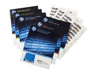 HP Ultrium 6 RW Bar Code Label Pack