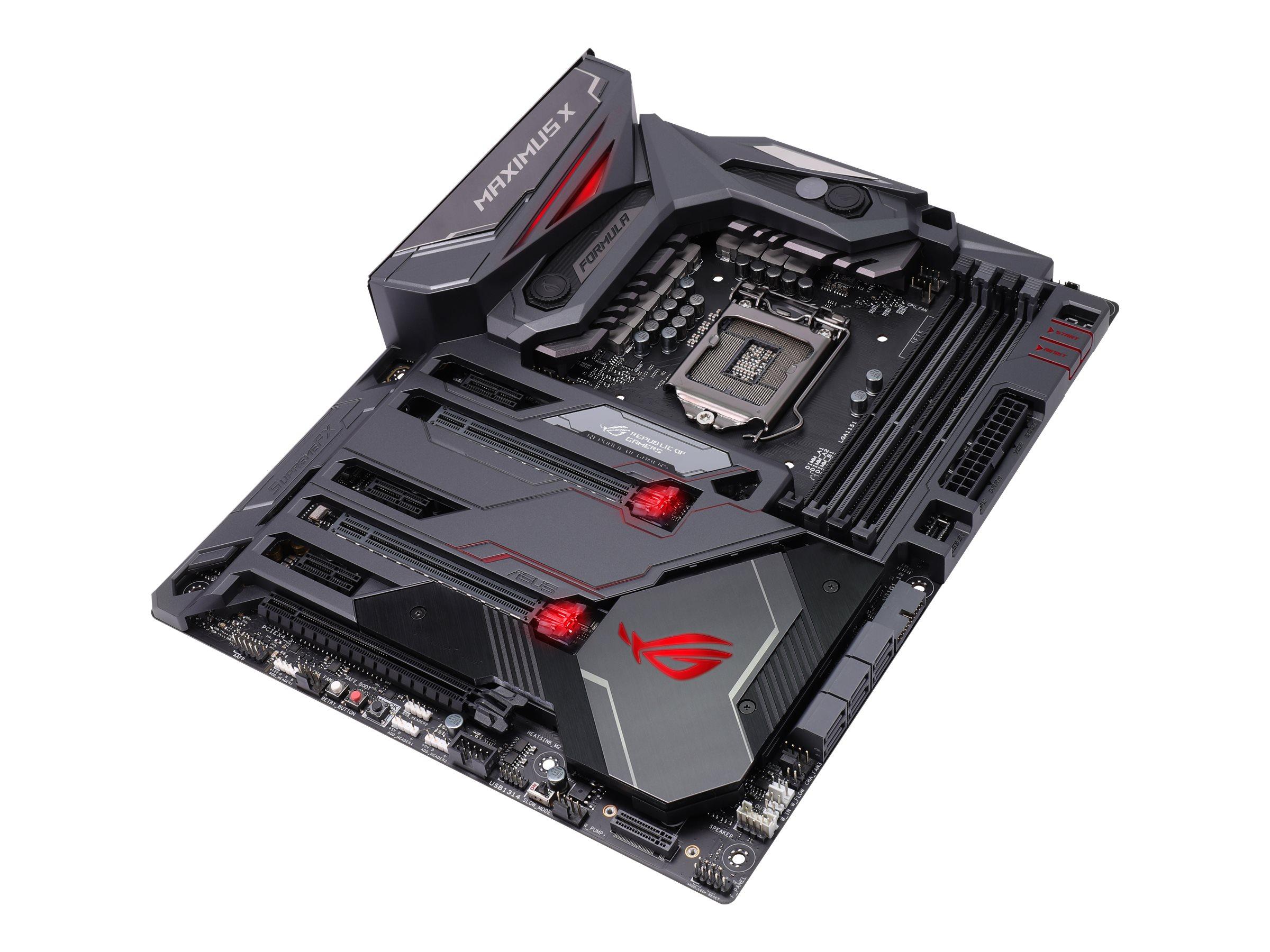 DCS - Intel Coffee Lake bundkort - ASUS ROG MAXIMUS X FORMULA ATX