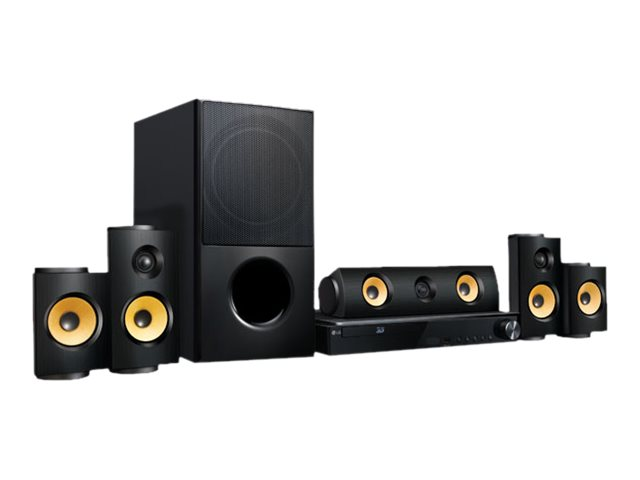 LG LHB725 - home theater system - 5.1 channel