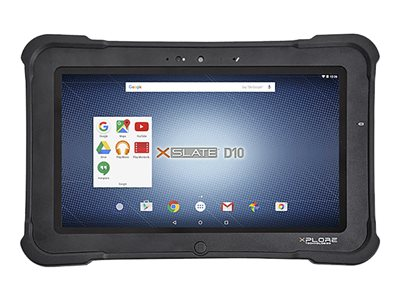 "Xplore XSLATE D10 - Tablet - Android 5.1 (Lollipop) - 64 GB - 10.1"" IPS (1366 x 768) - barcode reader - microSD slot"