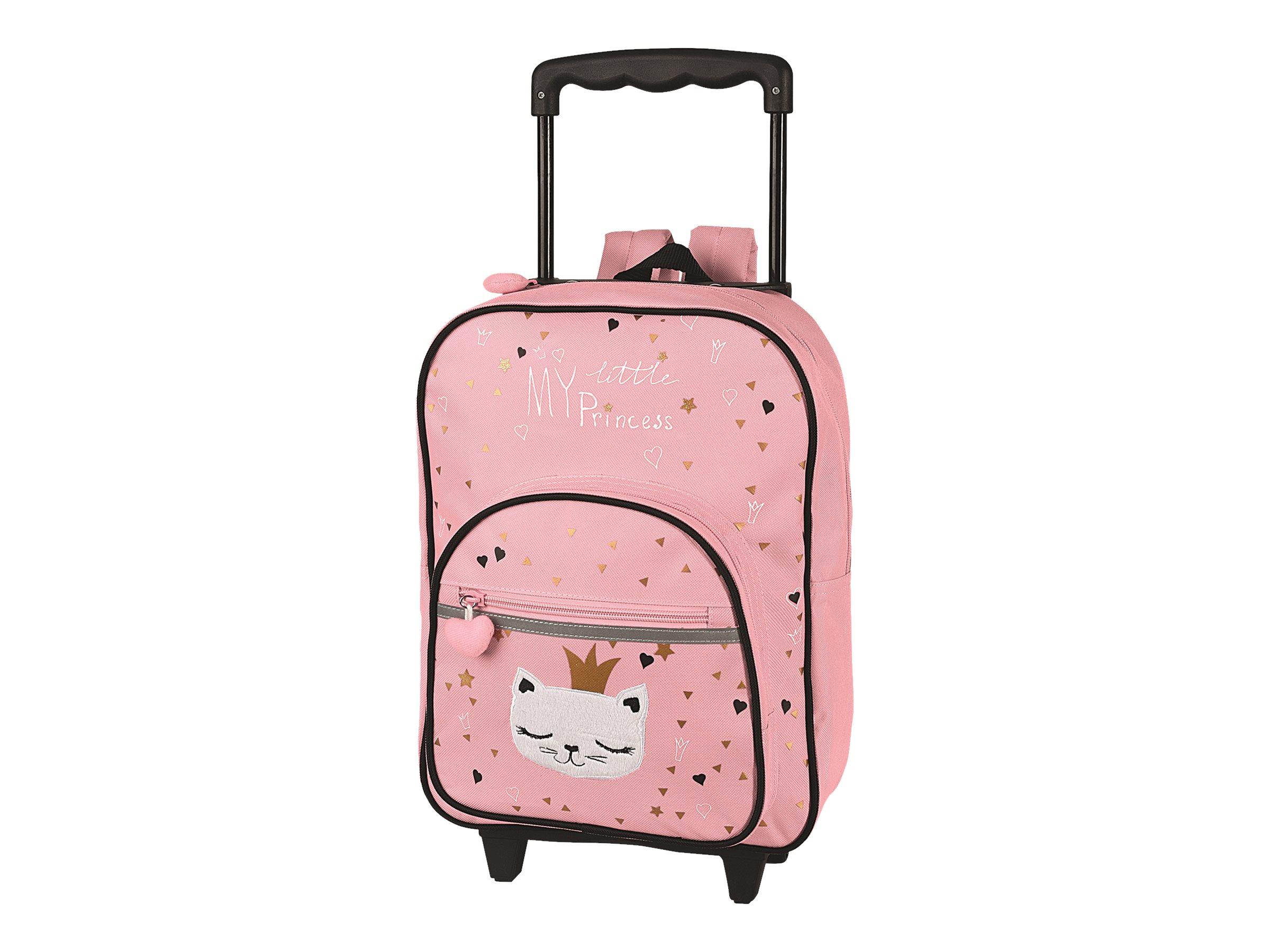 Oberthur Chaton Princess - valise à roulette / sac à dos