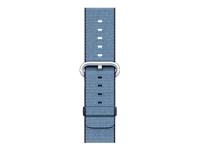 Apple 42mm Woven Nylon Band Urrem 145-215 mm marineblå, tahoe-blå
