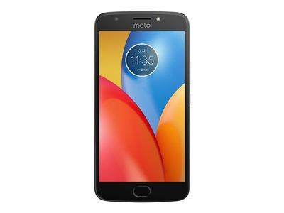 "Motorola Moto E4 Plus - Smartphone - 4G LTE - 16 GB - microSDXC slot - CDMA / GSM - 5.5"" - 1280 x 720 pixels (267 ppi) - RAM 2 GB - 13 MP (5 MP front camera) - Android - iron gray"