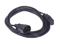 Dell - Power cable - IEC 60320 C14 to IEC 60320 C13