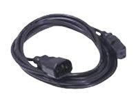 Dell - Cable de alimentación - IEC 60320 C14 a IEC 60320 C13