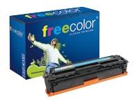 Freecolor - cyan - cartouche de toner (équivalent à : HP 128A )