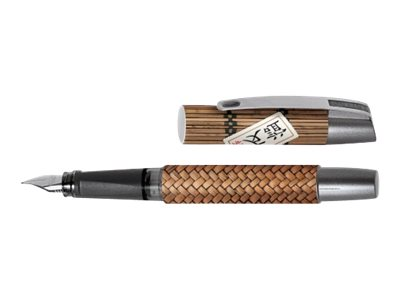 ONLINE YOUNG.LINE Campus Bamboo Art - Stylo plume - bleu