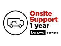 Lenovo Onsite Upgrade - Extended service agreement - parts and labor (for system with 1 year depot or carry-in warranty) - 1 year (from original purchase date of the equipment) - on-site - for ThinkBook 13s G2 ITL; 14 G2 ARE; 14 G2 ITL; 14s Yoga ITL; 15 G2 ARE; 15 G2 ITL; 15p IMH