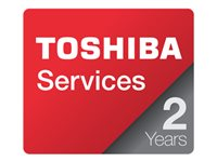 Toshiba Business On-Site - Extended service agreement - parts and labor - 2 years - on-site - 9x5 - for DynaPPad; Equium; Portégé; Satego; Satellite; Satellite Pro; TE2100; TE2300; Tecra