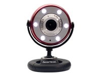 Gear Head Quick WebCam with Night Vision WC1200RED