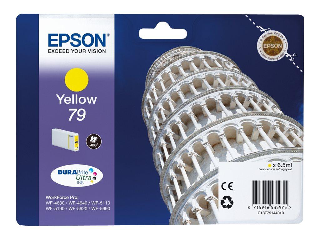 Epson T79 Tour de Pise - jaune - originale - cartouche d'encre