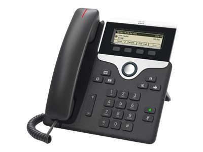Cisco IP Phone 7811 - Telefon VoIP - SIP, SRTP - uhel