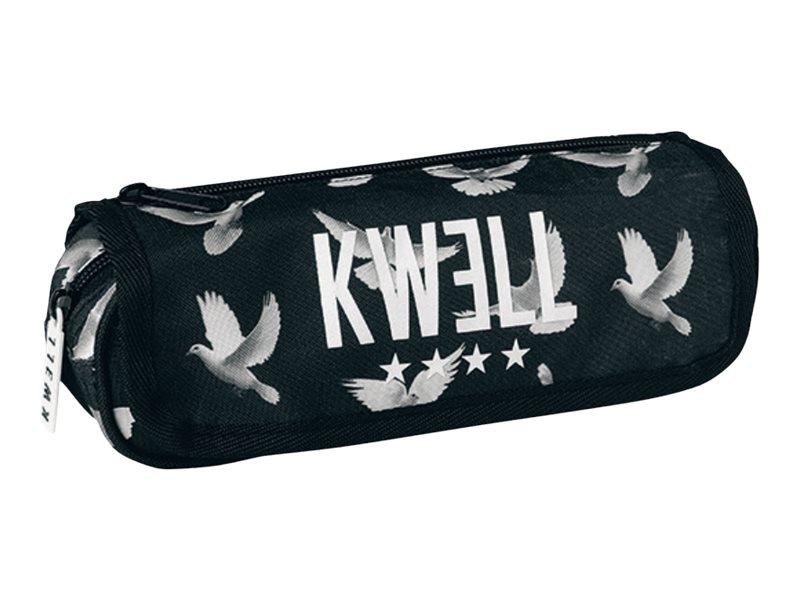 Oberthur Kwell - Trousse - à rabats - noir