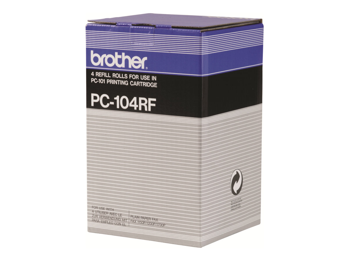 Brother - pack de 4 - noir - originale - cartouche de toner