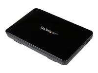 """StarTech.com Boitier Externe pour Disque Dur 2.5"""" SATA III et SSD sur port USB 3.0 avec Support UASP - Format Portable"""