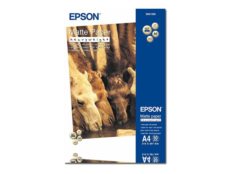 EPSON MATE A4 210 X 297 MM 167 GM2 50 HOJAS PAPEL