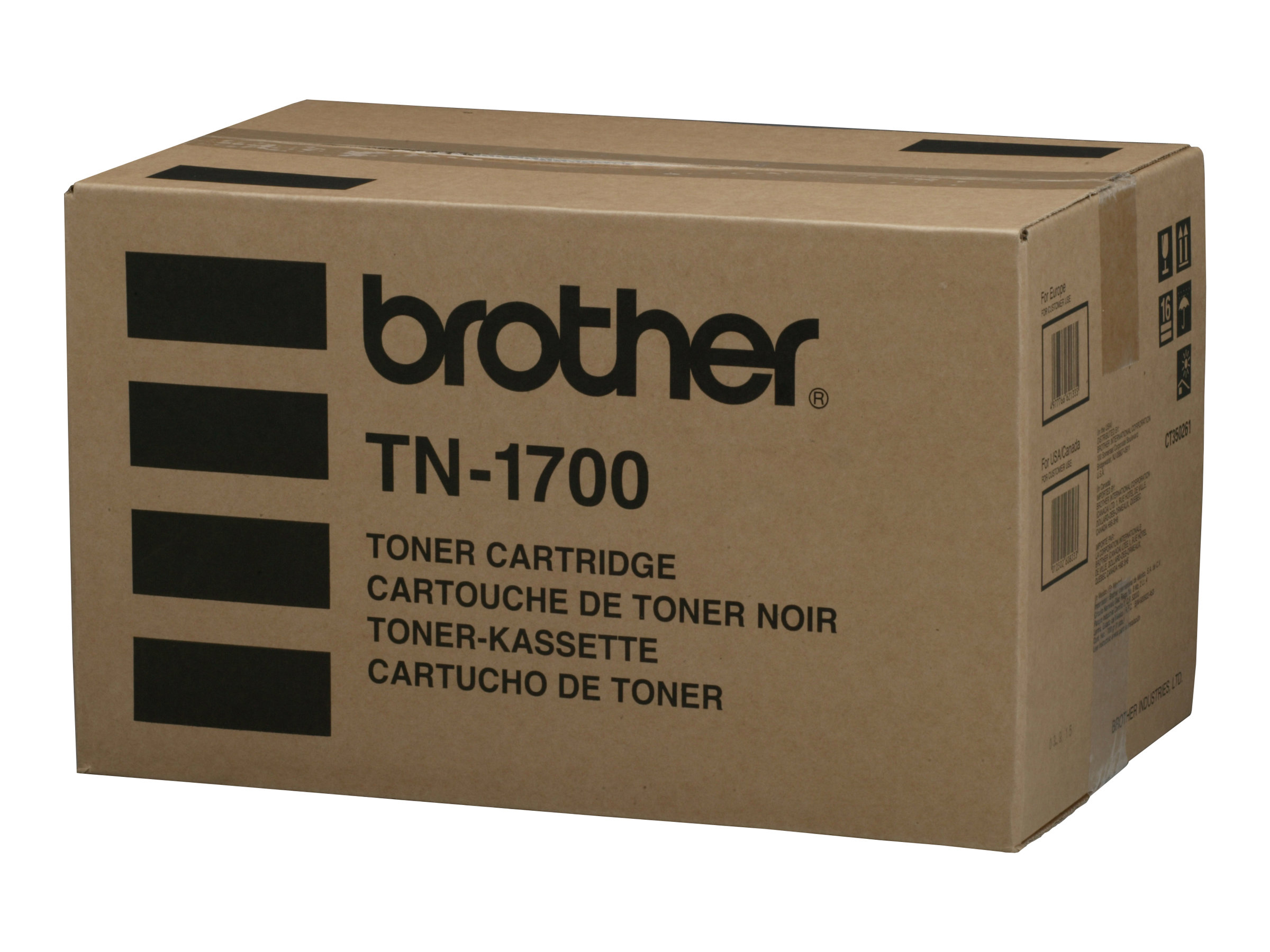 Brother TN1700 - noir - originale - cartouche de toner