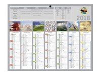 CBG Planète Médium - Calendrier de banque - 2017 - 7 mois par face - 210 x 265 mm