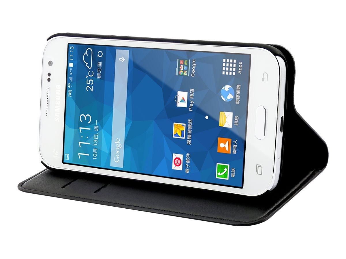 Muvit Slim S Folio - Protection à rabat pour Samsung GALAXY Core Prime - noir