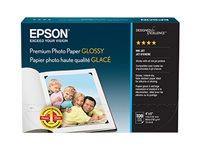 Epson Premium - De alto brillo - con revestimiento de resina