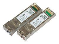 MikroTik, SFP+ optický modul S+2332LC10D, SM, 10km, 10GB (10G T1