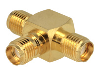 DeLOCK SMA Jack > SMA Jack > SMA Jack T-Shape Antenne-splitter