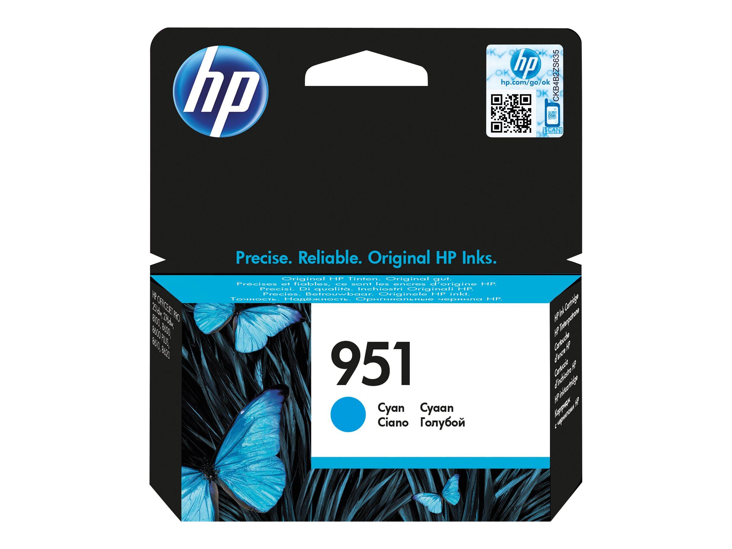 HP 951 - cyan - originale - cartouche d'encre