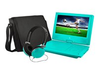 "Ematic EPD909 - DVD player - portable - display: 9"" - teal"