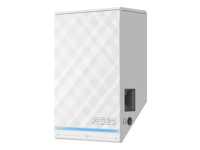 ASUS RP-N14 WiFi-rækkeviddeforlænger Wi-Fi 2.4 GHz i væggen