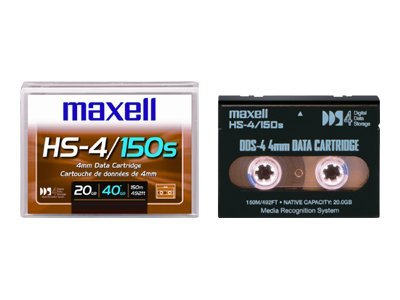 Maxell 4Mm 20/ 40Gb 150M Dds4 Dat Tape Cart