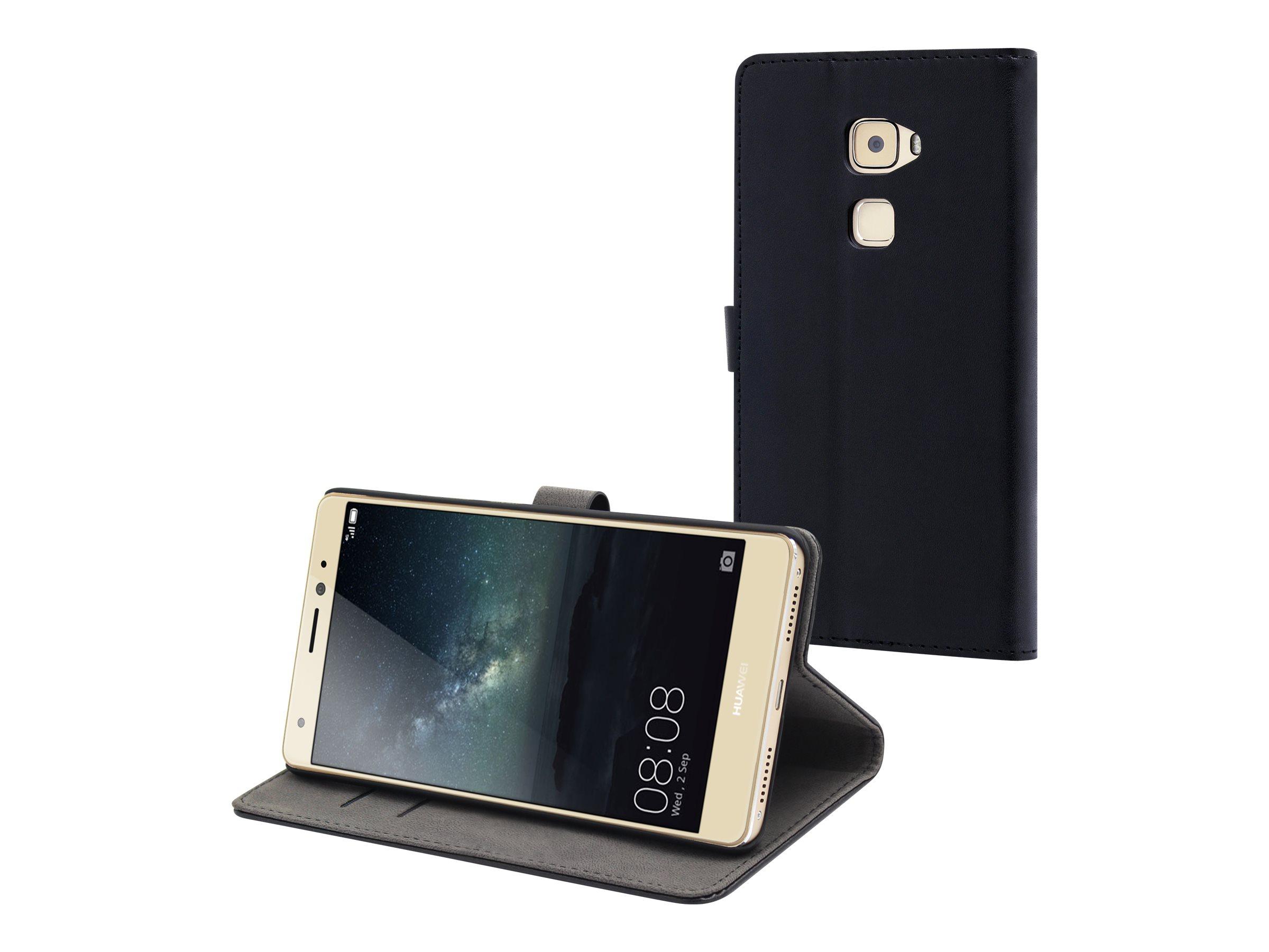 Muvit - Protection à rabat pour Huawei Mate S - noir
