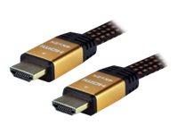 MCL Samar MC385GP - HDMI avec câble Ethernet - 3 m
