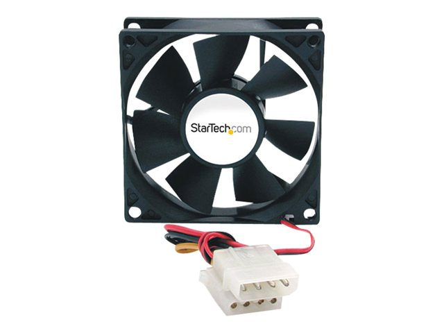 Image of StarTech.com 80x25mm Ever Lubricate Bearing PC Computer Case Fan w/ LP4 Connector - case fan