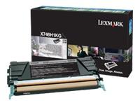 Lexmark Cartouches toner laser X746H1KG