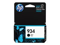 HP 934 - 10 ml - pigmented black - original - ink cartridge - for Officejet 6812, 6815, 6820; Officejet Pro 6230, 6230 ePrinter, 6830, 6835