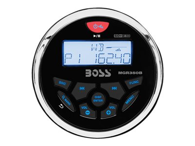 BOSS Marine MCKGB350B.6 - Marine - digital receiver - in-dash - 60 Watts x 4