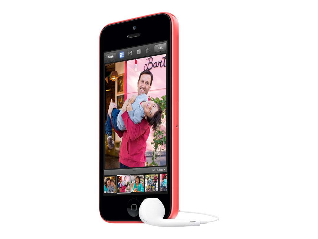 apple iphone 5c rose 4g lte 16 go gsm smartphone. Black Bedroom Furniture Sets. Home Design Ideas