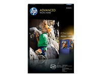 HP Advanced - Glossy - 10.5 mil - 4 in x 6 in - 250 g/m² - 100 sheet(s) photo paper - for Deskjet 36XX; Envy 50XX, 76XX, Photo 7155, Photo 7855; Officejet 52XX; PageWide Pro 477