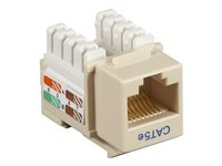 Pack of 25 pcs Universal Wiring Gray Black Box FMT923-R2 Gigabase2 Cat5e Jack
