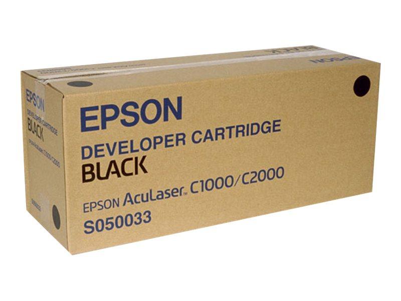 Epson S050033 - noir - originale - cartouche de toner