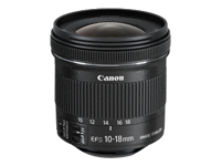 Canon EF-S objectif zoom grand angle - 10 mm - 18 mm