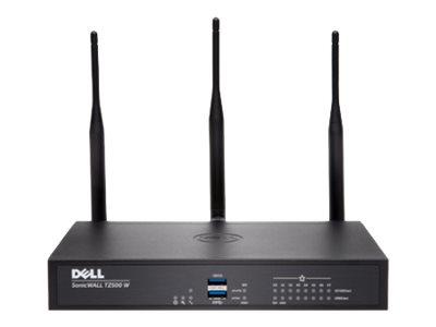 SonicWall TZ500 Wireless-AC - Advanced Edition - bezpečnostní zařízení - 8 porty - GigE - 802.11a/b/g/n/ac - Duální pásmo - SonicWALL Secure Upgrade Plus Program (2 roky)