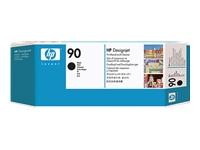 HP 90 - noir - tête d'impression avec nettoyeur