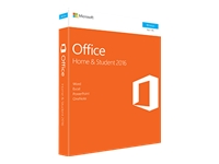 Microsoft Office Home and Student 2016 Bokspakke 1 PC ikkekommerciel