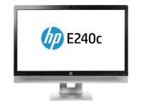 HP EliteDisplay E240c Video Conferencing Monitor - écran LED - 23.8""