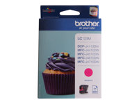 Brother LC123M, LC-123M (inkoust magenta, 600 str.@ 5% draft)