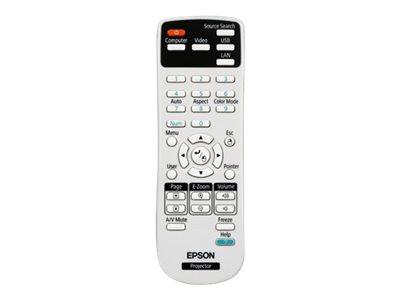 Epson - Projector remote control - for Epson EB-W12, EB-X11, EB-X12, EB-X14
